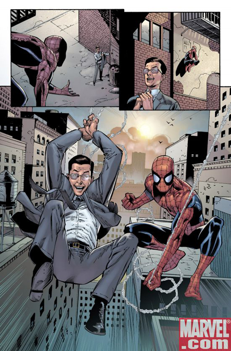 Amazing Spider-Man 573 Panel