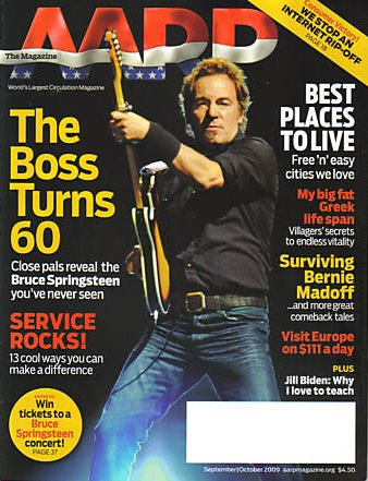 Bruce Springsteen AARP cover