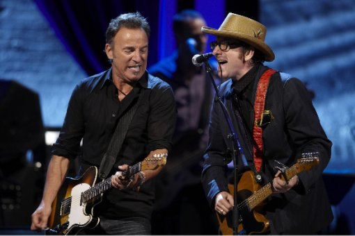 Bruce Sprinsteen and Elvis Costello