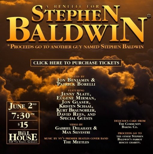 Benefit for Stephen Baldwin