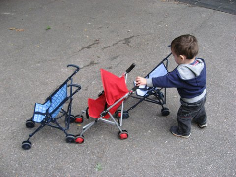 Image of the Day: Stroller Parking