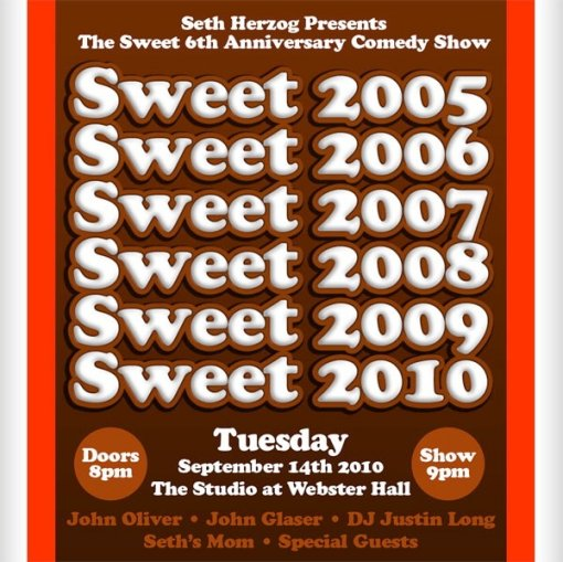 SWEET 6th Anniversary Show