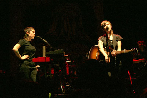 Tegan and Sara @ Webster Hall