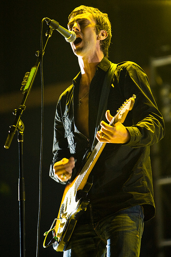 Richard Ashcroft of The Verve at Coachella