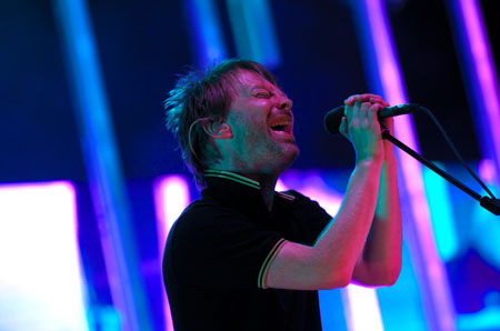 Thom Yorke at All Points West