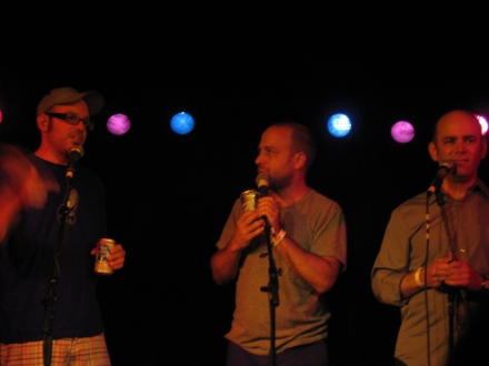 David Cross, Todd Barry, Jon Benjamin