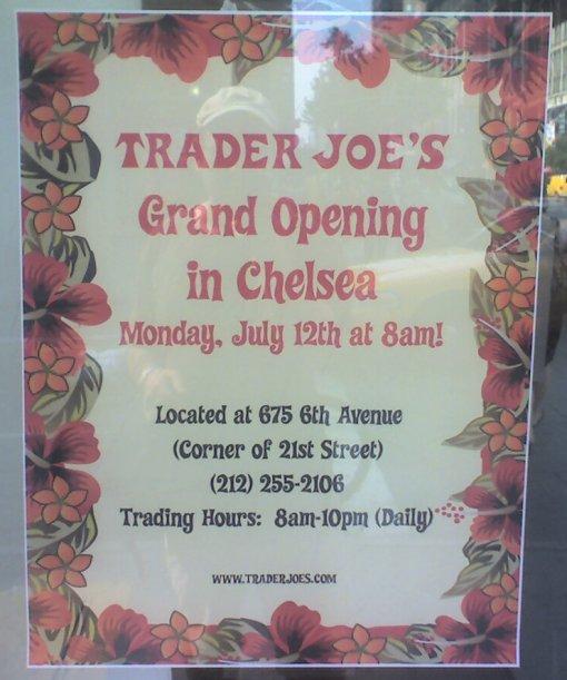 Trader Joe's Chelsea