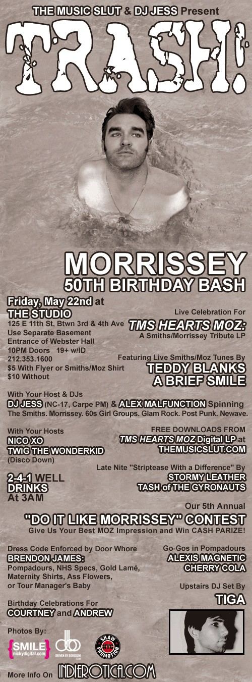 TMS Hearts Morrissey Record Release Show