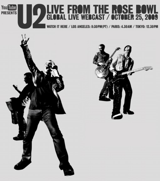 U2 YouTube Webcast