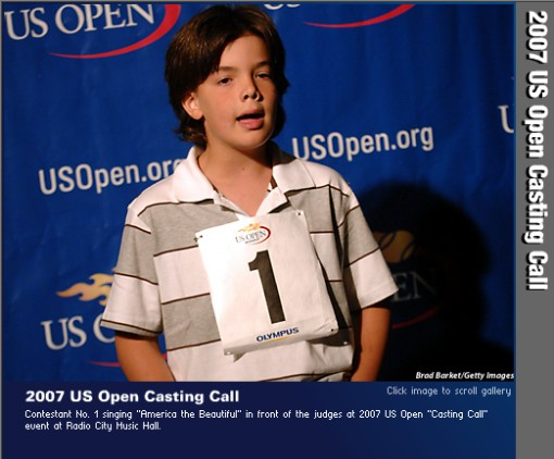 2007 US Open Casting Call
