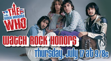 VH1 Rock Honors The Who