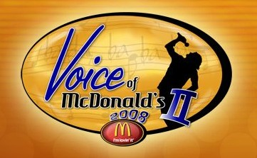 Voice of McDonalds II 2008