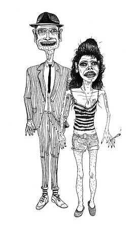 Amy Winehouse and Blake Fielder-Civil