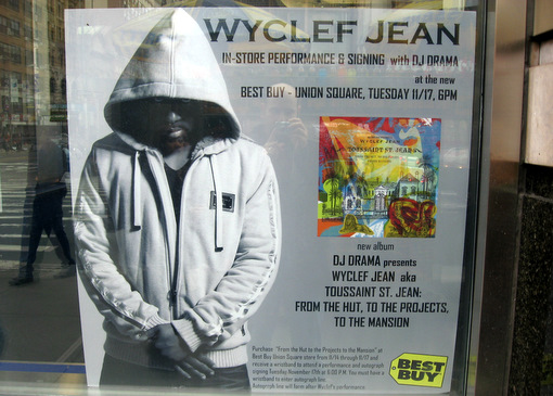 Wyclef Jean at Best Buy USQ