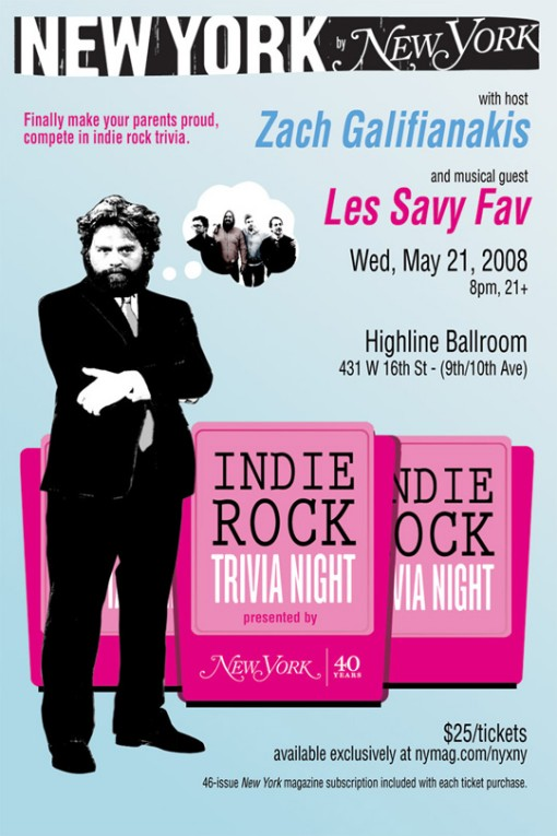 New York Magazine Indie Rock Trivia