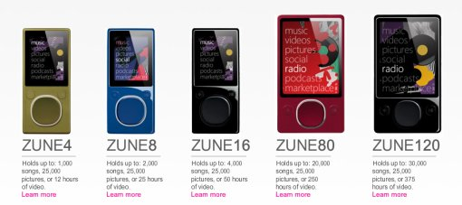 Zune Flash Player